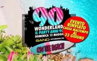 DOMENICA 23 GIUGNO 2019    SAND BEACH