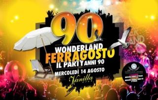 MERCOLEDI' 14 AGOSTO 2019   VANILLA CLUB – JESOLO
