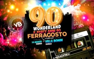VENERDI' 14 AGOSTO 2020 | VILLA BONIN
