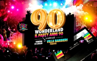 VENERDI' 24 LUGLIO 2020 | VILLA BARBIERI